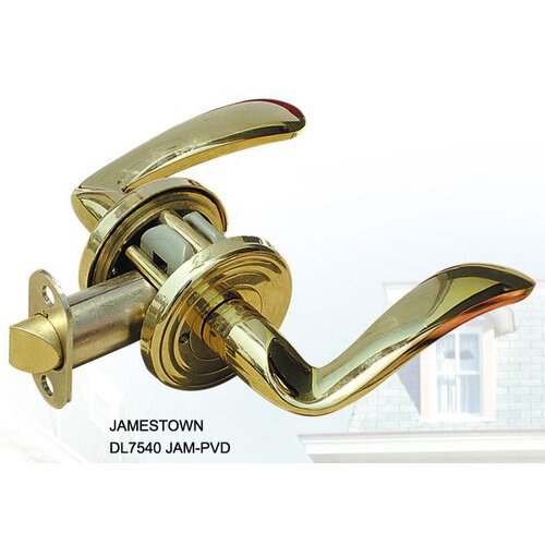 Double Hill USA Jamestown Decorative Privacy Door Lever
