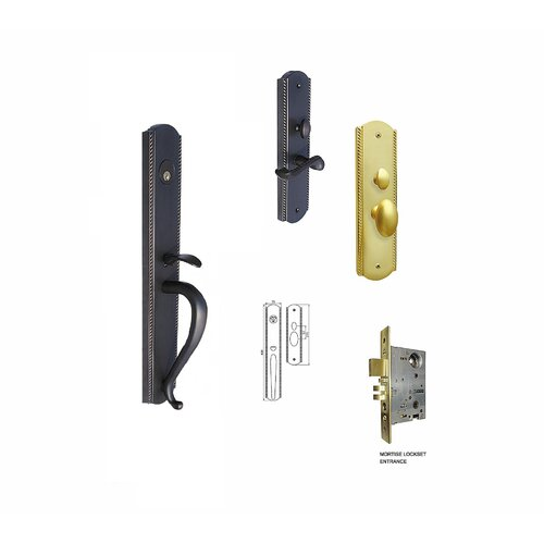Double Hill USA Roland Keyed Mortise Entry Set