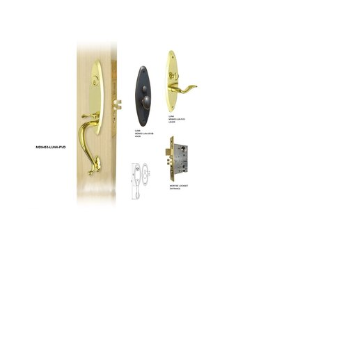 Double Hill USA Luna Keyed Mortise Entry Set