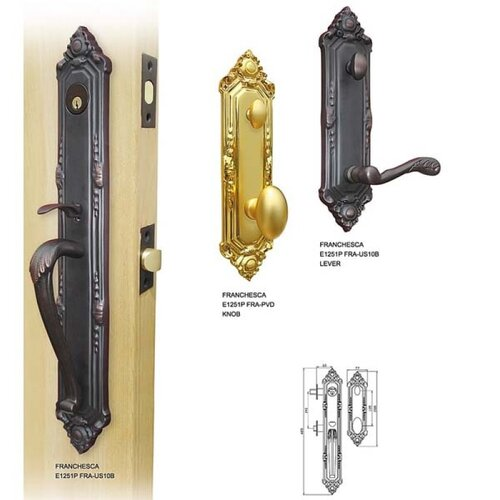 Double Hill USA Excalibur Dummy Mortise Entry Set