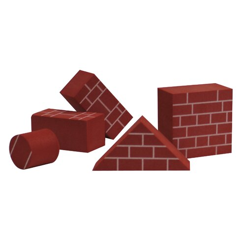 edushape Brick - Like  Toy Foam Blocks