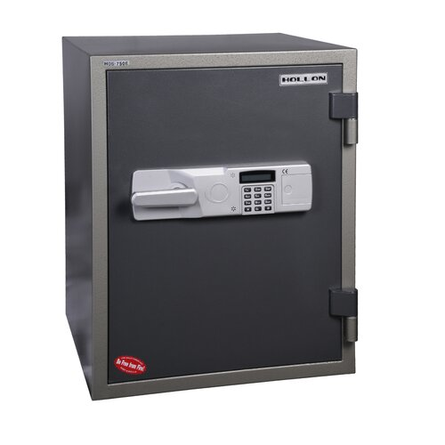 Hollon Safe 1 Hr Fireproof Electronic Lock Data / Media Safe