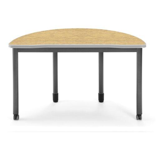 OFM Mesa Series Half-Round Utility Table