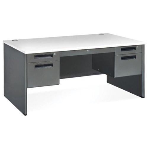 OFM Mesa Series Executive Panel End Computer Desk