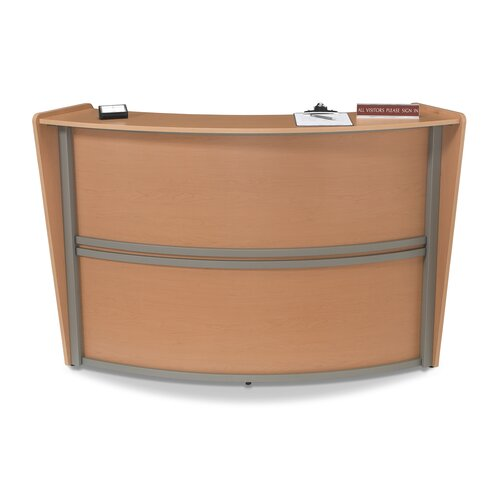 OFM Reception Furniture Single Unit Curved Station
