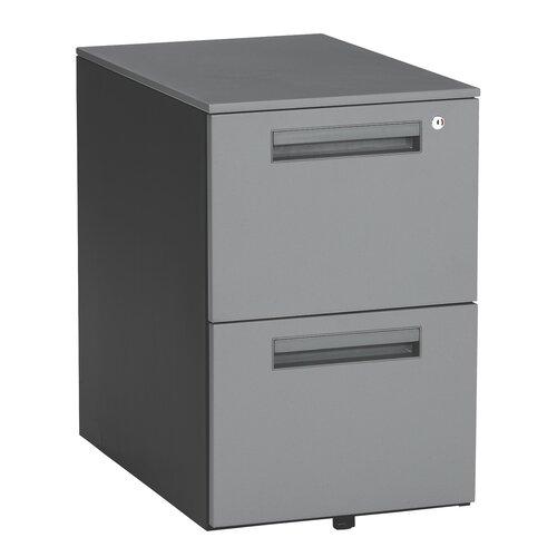 OFM Executive Series 2-Drawer Mobile Pedestal File Cabinet