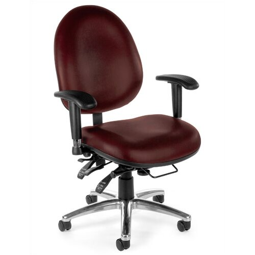 OFM 24 Hour Computer Mid-Back Conference Chair