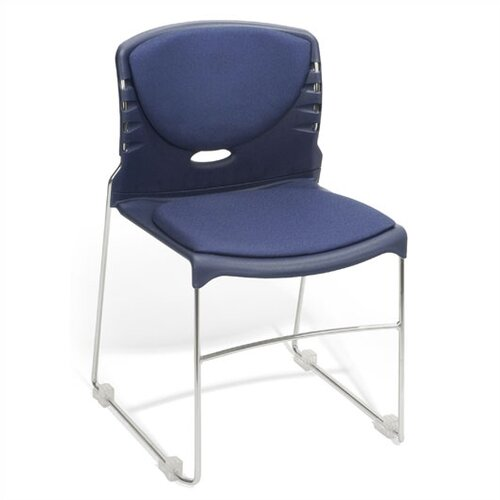 """OFM 18"""" Plastic Classroom Armless Stack Chair"""