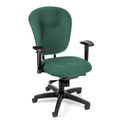 OFM Conference Mid-Back Chair with Arms