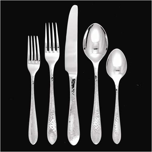 Ginkgo Starlight 43 Piece Flatware Set