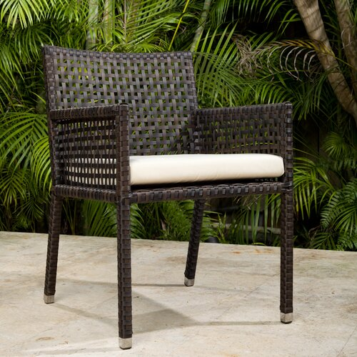 Source Outdoor Matterhorn Dining Arm Chair with Cushion