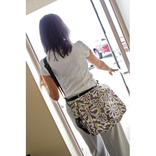 Amy Michelle Seattle Messenger Diaper Bag