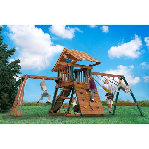 Backyard Play Systems Explorer's Station Swing Set