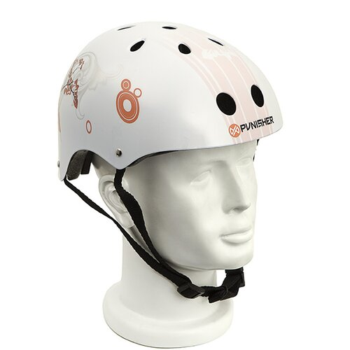 Punisher Skateboards Punisher Cherry Blossom 11-Vent Skateboard Helmet