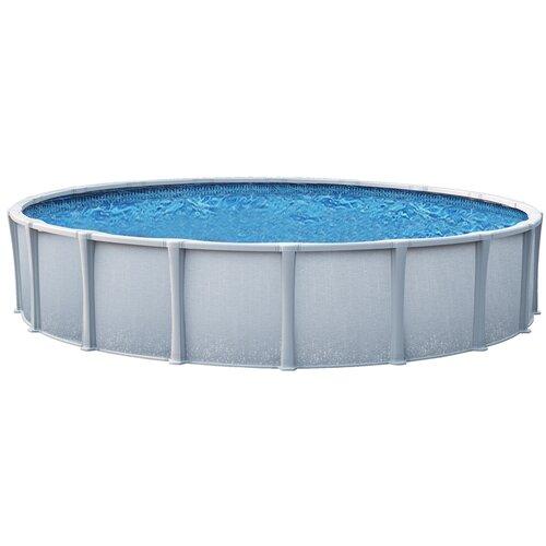 "Backyard Leisure by Wilbar Oval 54"" Deep Trinity Above Ground Pool Package"