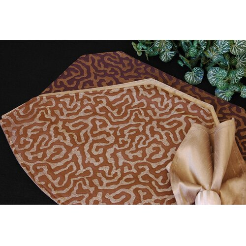 Pacific Table Linens Illusions Table Linens Reversible Placemat