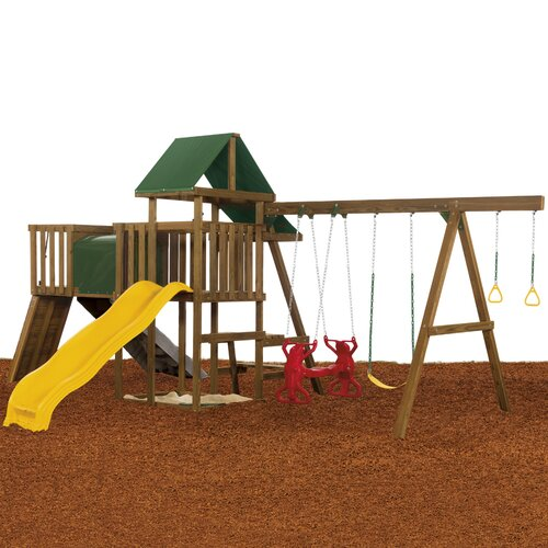 Playstar Inc. Rival Gold Swing Set