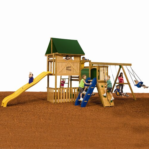 Playstar Inc. Great Escape Bronze Swing Set