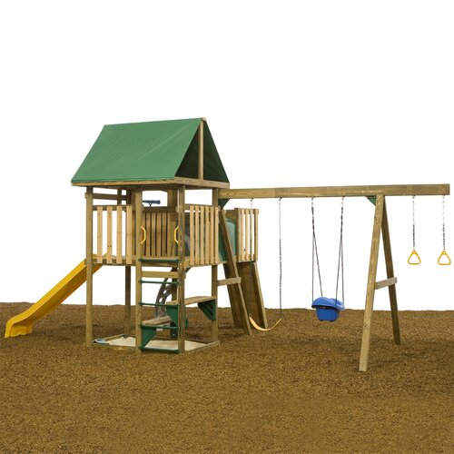 Playstar Inc. Legend Bronze Swing Set