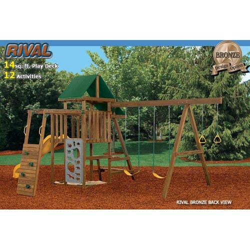 Playstar Inc. Rival Gold Swing Set