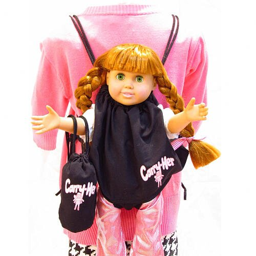 Carry-Her Combo Doll Carrier Backpack