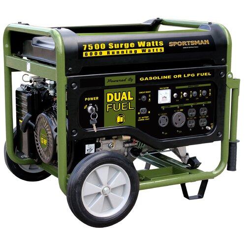 Sportsman Series 7500 Watt Dual Fuel Generator