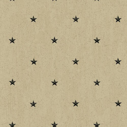 York Wallcoverings Welcome Home Barn Star Spot Wallpaper