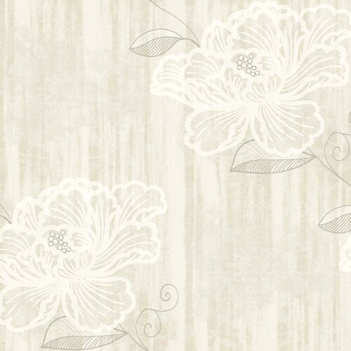 York Wallcoverings Elements Opal Floral Botanical Wallpaper