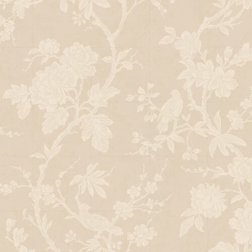 York Wallcoverings Natural Radiance Arlington Floral Botanical Wallpaper