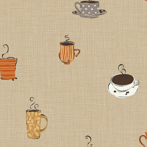York Wallcoverings Bistro 750 Coffee Mug Wallpaper