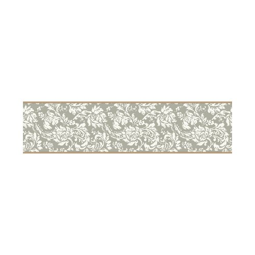 York Wallcoverings Bistro 750 Damask Border Wallpaper