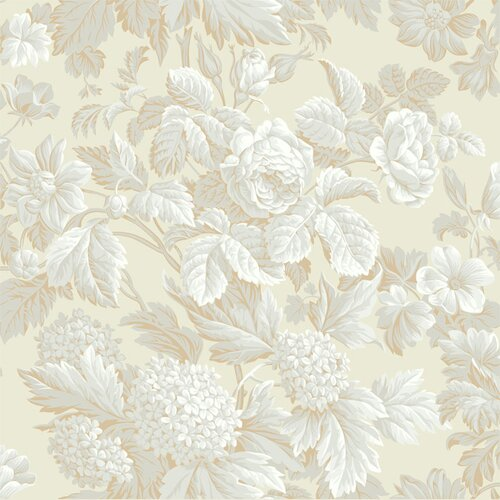 York Wallcoverings French Dressing Floral Wallpaper