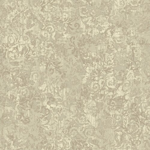 York Wallcoverings French Dressing Layered Scroll Wallpaper