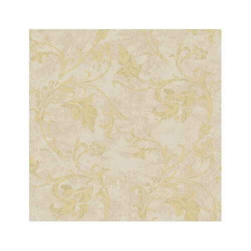 York Wallcoverings American Legacy Scroll Wallpaper