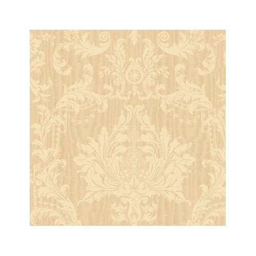 York Wallcoverings American Legacy Middlebury Damask Wallpaper
