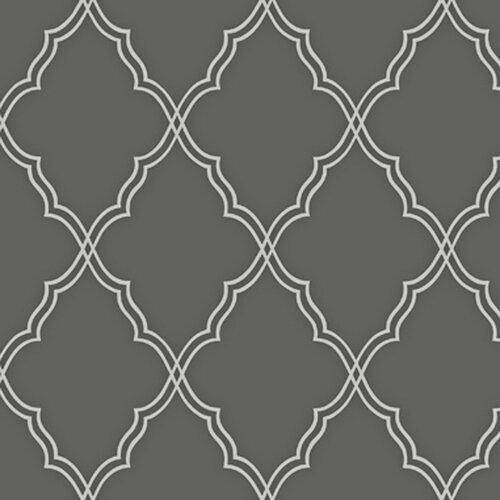 Moroccan Trellis Wallpaper: York Wallcoverings Candice Olson II Moroccan 27' X 27