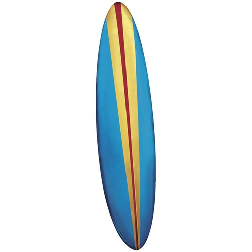York Wallcoverings Mural Portfolio II Boy Surfboard Wall Decal