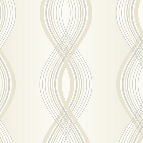 York Wallcoverings Candice Olson Inspired Elegance Moda Abstract Wallpaper