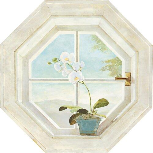 Portfolio II Trompe L'oiel Octagon Window Accent Wall Mural