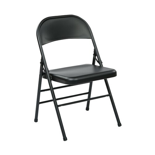 fice Star Metal Folding Chair & Reviews