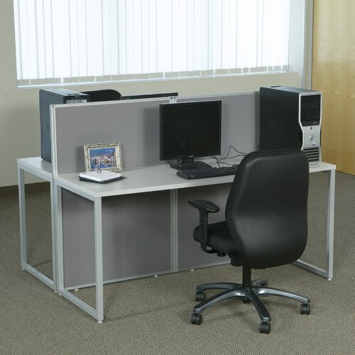 Office Star Products Box Office Typical Seven Panels Configuration Computer Workstation