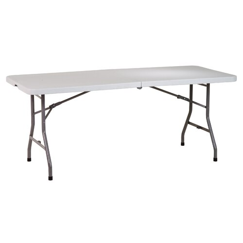 "Office Star Products Work Smart 72"" Rectangular Folding Table"
