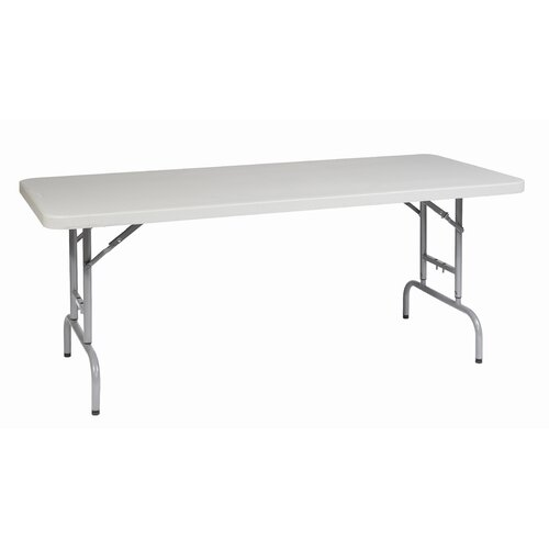 "Office Star Products 72"" Rectangular Folding Table"