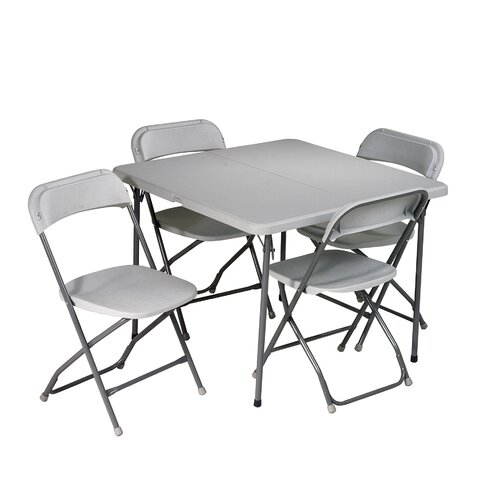 Office Star Products 5 Piece Folding Set
