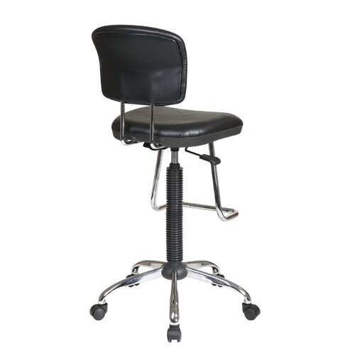 Office Star Height Adjustable Drafting Chair With Footrest Reviews Wa
