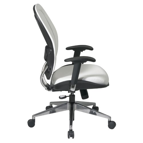 Office Star Products Vinyl Back and Seat Managers Space Deluxe Office Chair