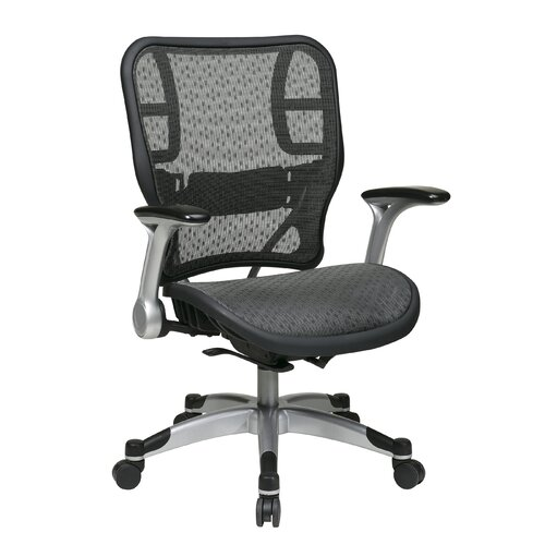 Office Star Products Professional R2 SpaceGrid Mesh Seat and Back Task Chair