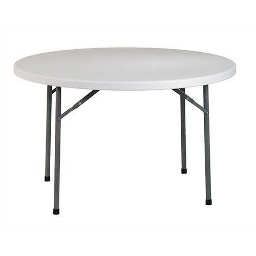 "Office Star Products 48"" Round Folding Table"