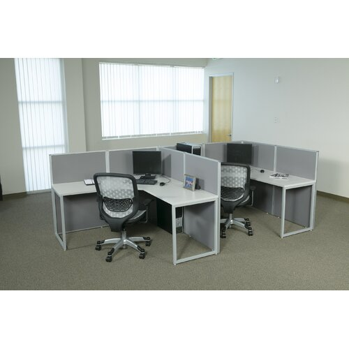 Office Star Products Box Office Typical Two Configuration Computer Workstation