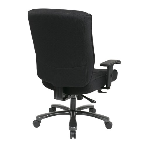 Office Star Products Deluxe Big and Tall Back Mesh Executive Office Chair